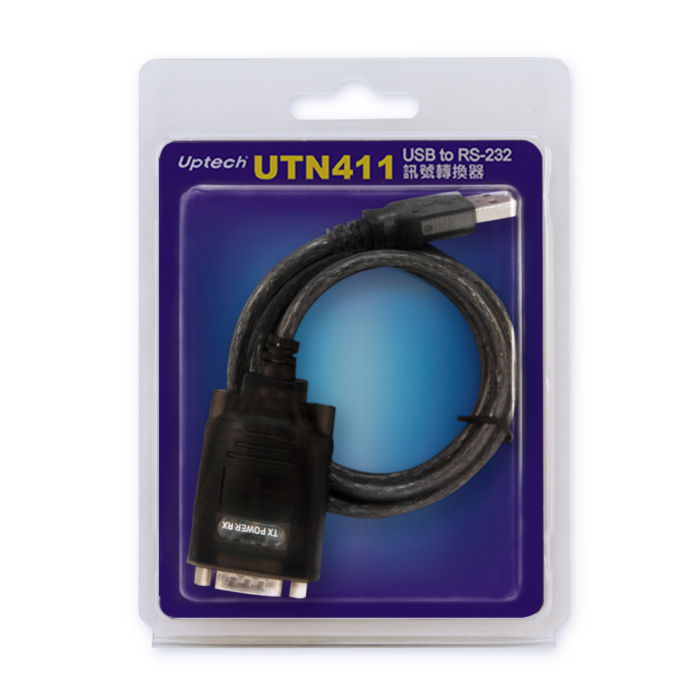 Uptech UTN411 USB to RS-232訊號轉換器