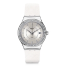 Swatch 51號星球機械錶 SISTEM SNOW 冰晶白雪手錶