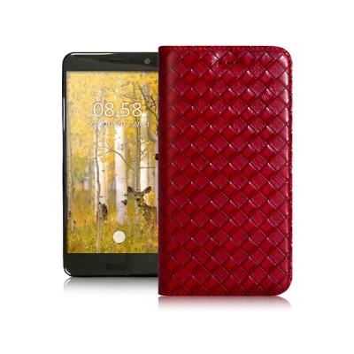 XM HTC U11 5.5吋 魔幻編織磁吸支架皮套