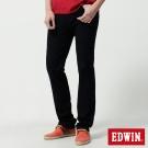 EDWIN大尺碼 中直筒 迦績褲JERSEYS針織牛仔褲-男-原藍色