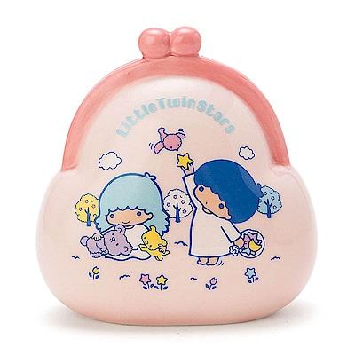 Sanrio 雙星仙子復古口金包造型陶磁存錢筒