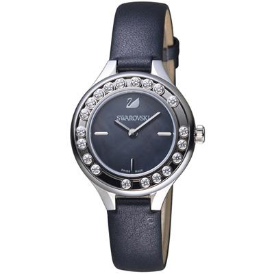 SWAROVSKI 施華洛世奇 Lovely Crystals Mini 低調奢華飄鑽腕錶