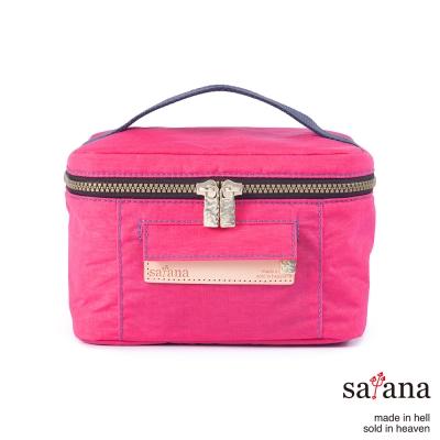 satana - 風尚野餐包/化妝包 - 覆盆子冰沙