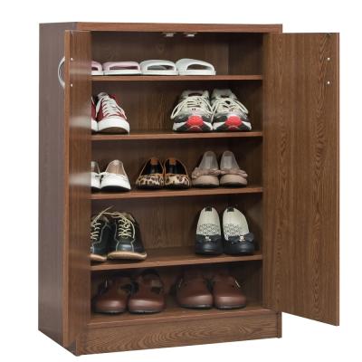 TZUMii 胡桃木雙門鞋櫃
