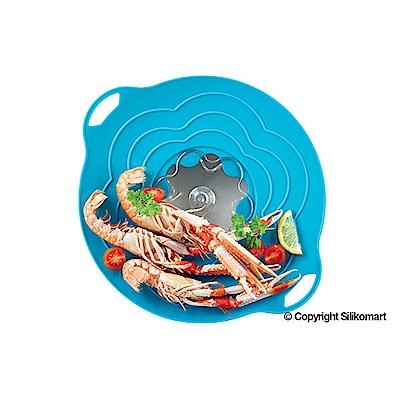 義大利製SiliKoMart專利防漏-聰明蒸煮鍋蓋(S)-藍