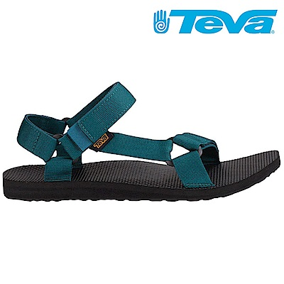 TEVA Original Universal 男休閒涼鞋 設計師聯名款 深藍綠