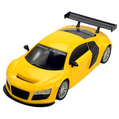 Ultimate Super 尾翼版-黃》1:18模型全方位遙控酷炫造型遙控車