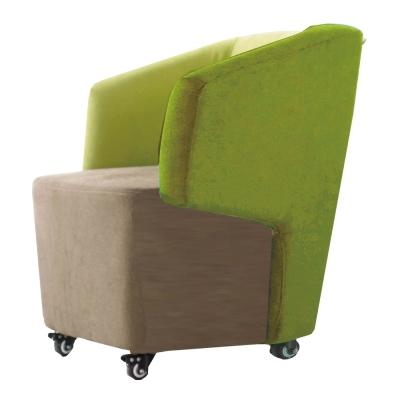 品家居 哥凡亞麻布實木造型椅凳(四色可選)-63x62x77cm免組