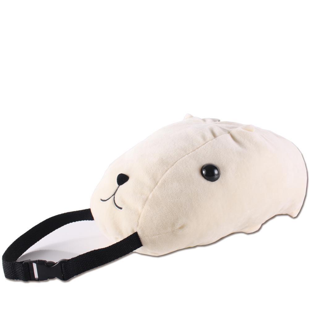 kapibarasan 水豚君多用途絨毛面紙套。懷特小姐