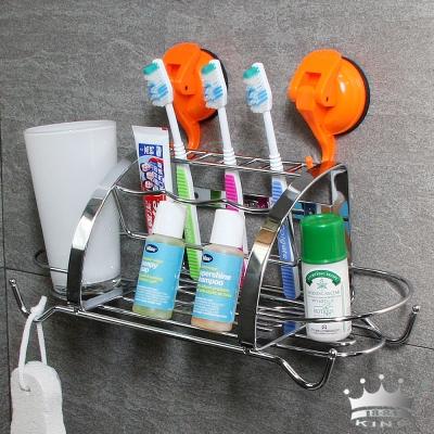 king牙刷盥洗不鏽鋼收納架
