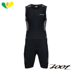 ZOOT 專業級肌能連身鐵人服(男)(格紋白) Z1706023