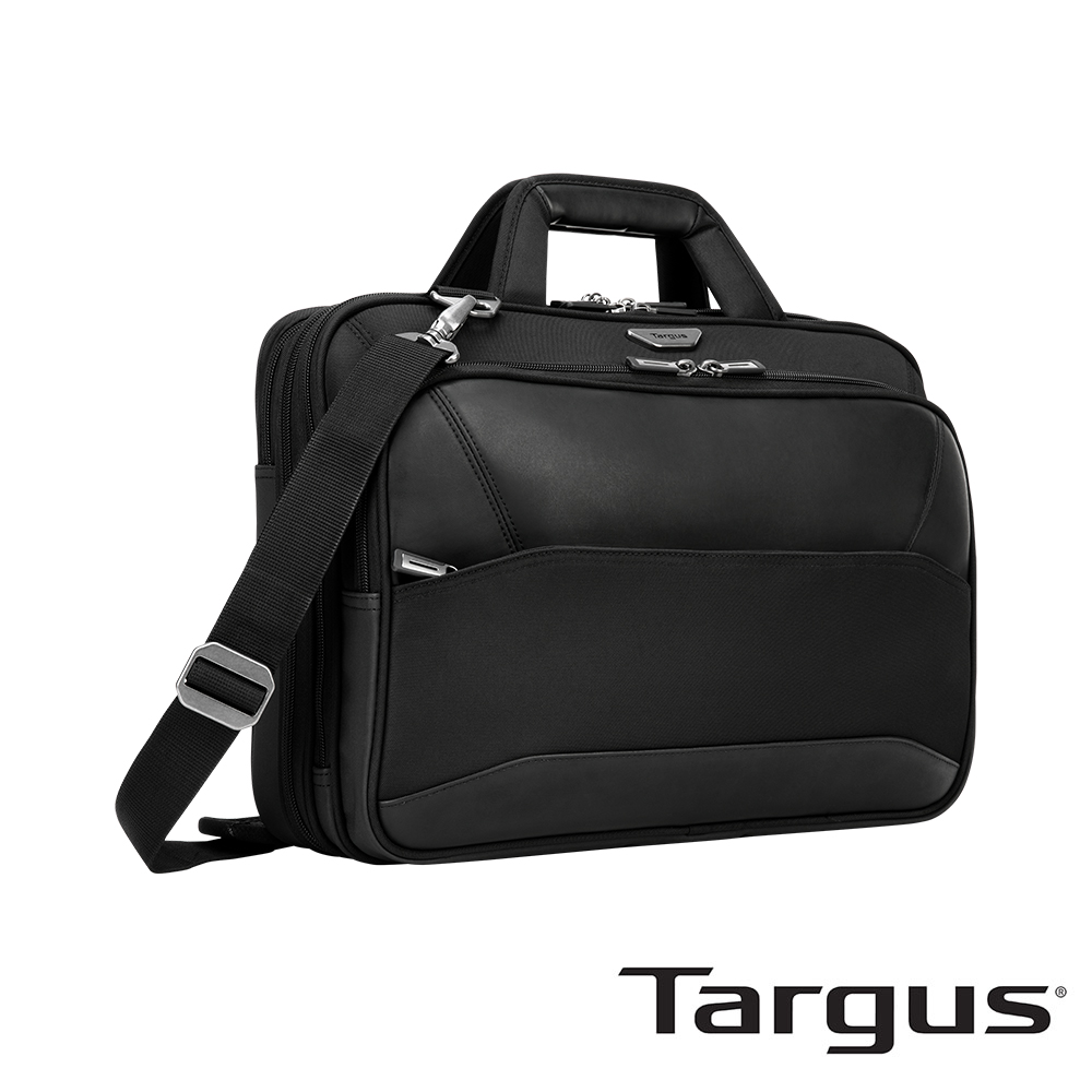 Targus Mobile ViP 15.6 吋極簡商務差旅雙層側背包 (附海關檢查層)