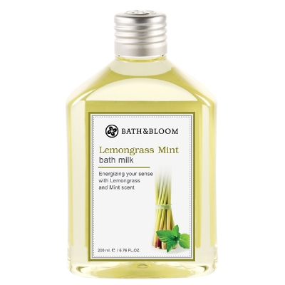 Bath&Bloom 檸檬草薄荷天然泡澡精油 200ml