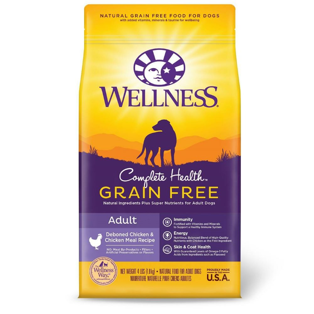 WELLNESS 全方位無穀系列-成犬 去骨雞肉食譜 4磅