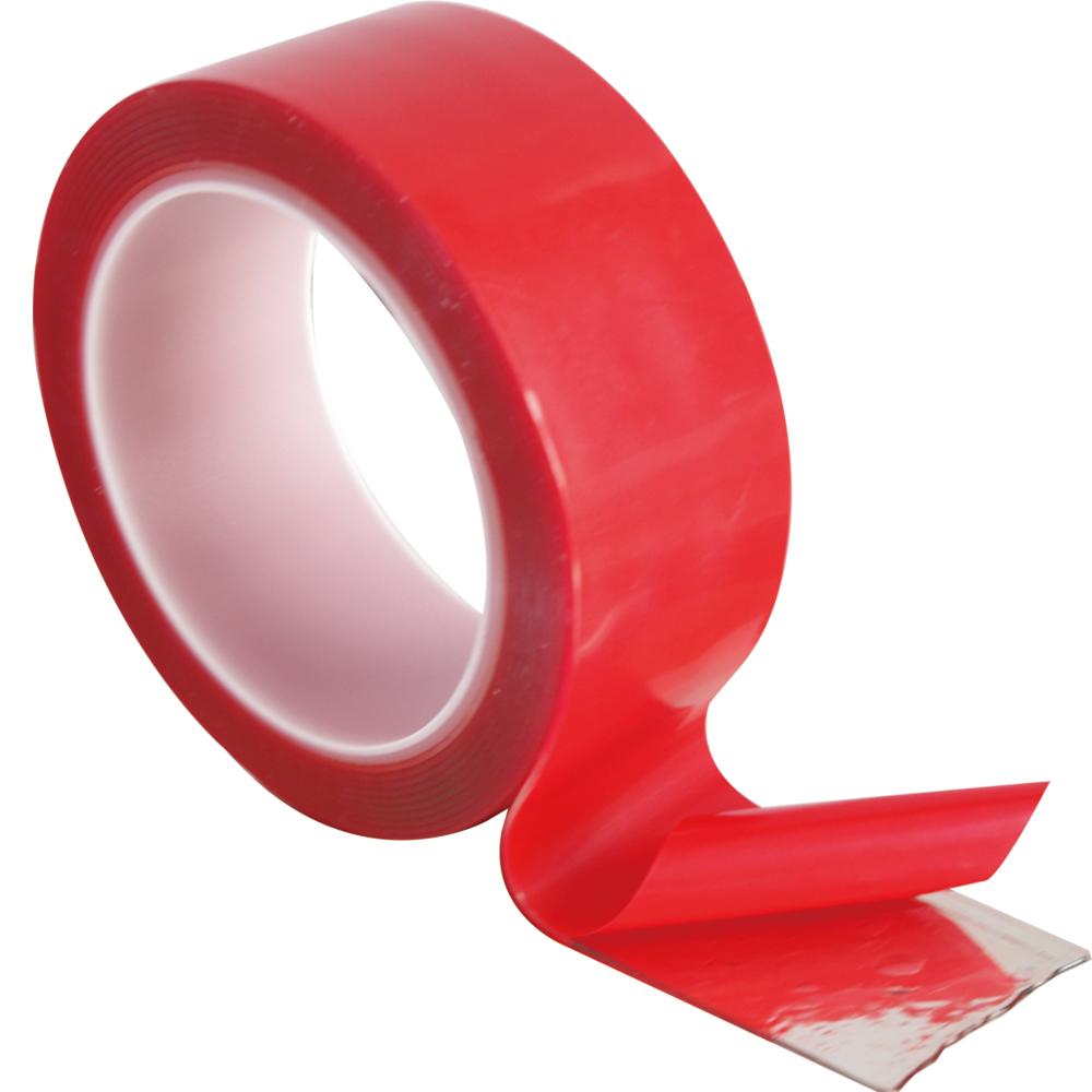 黏TT 透明無痕強力貼一捲 (4x300x0.1cm)