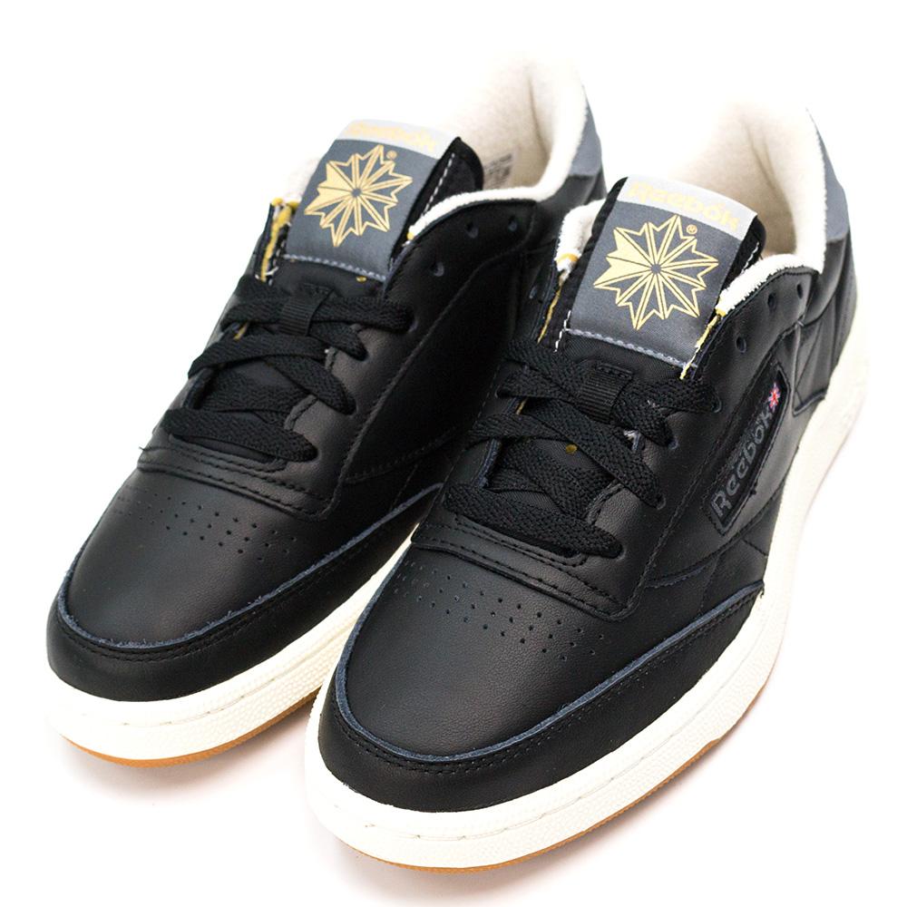 REEBOK-CLUB C 85男休閒鞋-黑