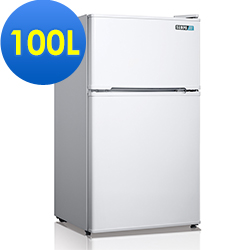 SAMPO 聲寶 100公升直冷精緻雙門冰箱