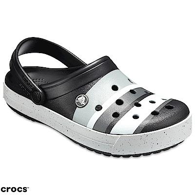 Crocs 卡駱馳 (中性鞋) 卡駱班灰白黑階克駱格 205109-02G