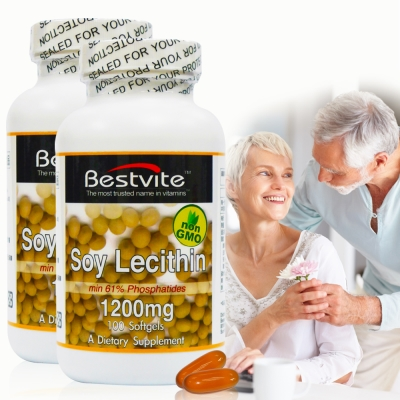 美國BestVite-必賜力高濃縮卵磷脂膠囊2瓶組