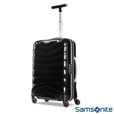 Samsonite新秀麗 20吋Firelite極限Curv材質硬殼登機箱(碳黑)