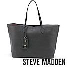 STEVE MADDEN-BLINDY-經典素面托特包-黑色