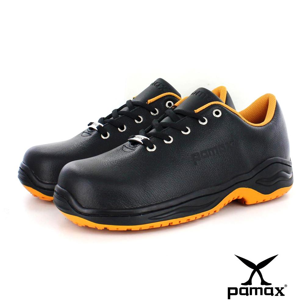 PAMAX帕瑪斯鋼頭止滑安全鞋【超彈力氣墊、工作鞋】超機能、休閒、男女