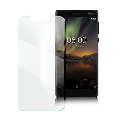 Xmart for NOKIA6 2018 薄型 9H 玻璃保護貼-非滿版