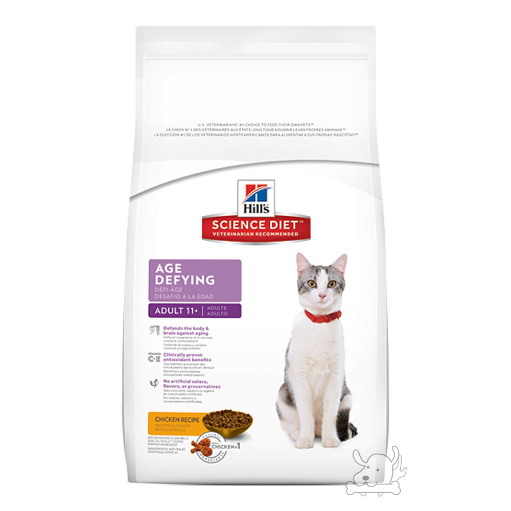 希爾思全新配方 高齡貓11+ 抗齡配方 7磅1包