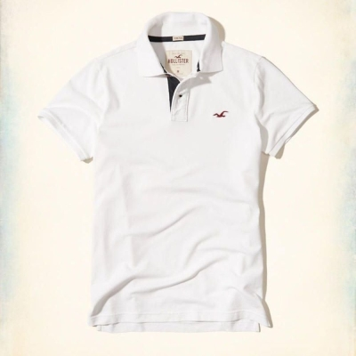 Hollister HCO POLO 白色 0350