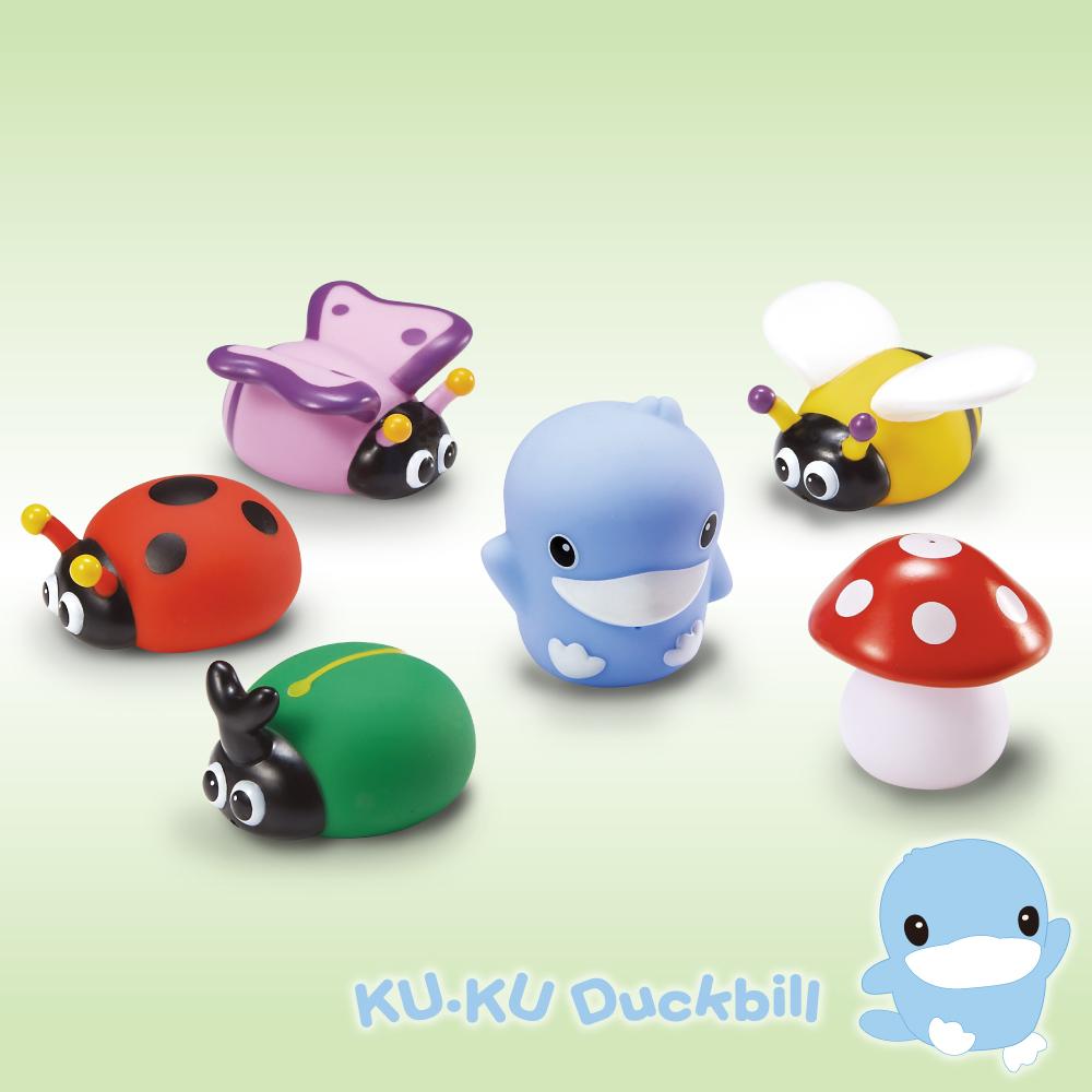 KU.KU酷咕鴨水中玩具-花園昆蟲組(1111)