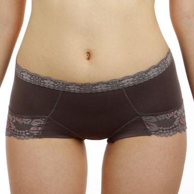 LADY-魔力機能調整型-中腰三角貼身褲-夜光灰