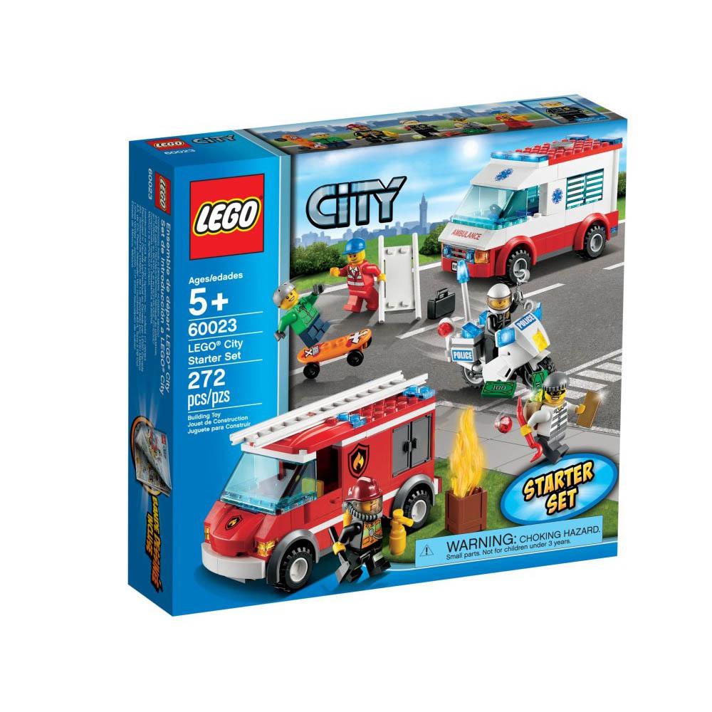 【LEGO樂高】城市系列/60023 樂高城市入門套裝