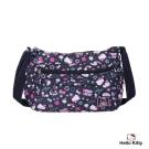 Hello Kitty-悠遊星空系列- 側背包-中-深藍色-KT01Q02NY