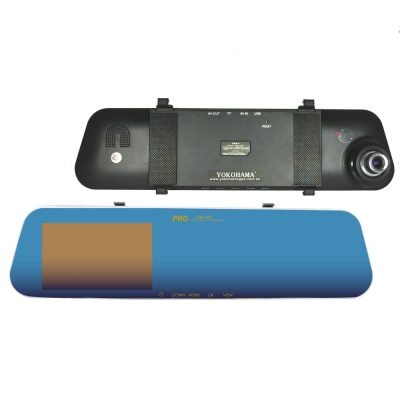 YOKOHAMA HD-658T 後鏡頭 1080P GPS多功能行車紀錄器( 贈16G)