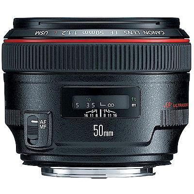 Canon EF 50mm F1.2L USM 超大光圈標準鏡頭(平輸)