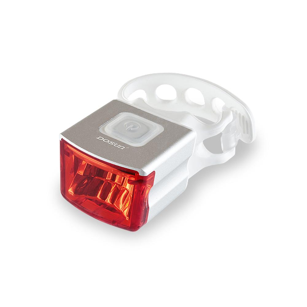 DOSUN RS01 天燈USB充電式自行車警示燈 銀白