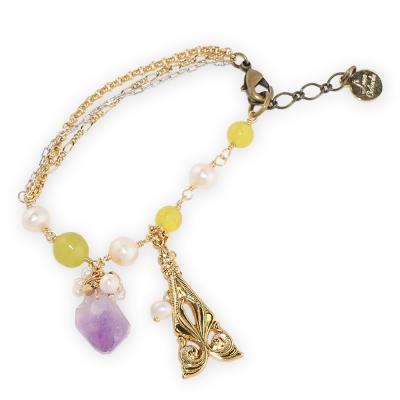 Luce Costante La gemme系列紫水晶手鍊