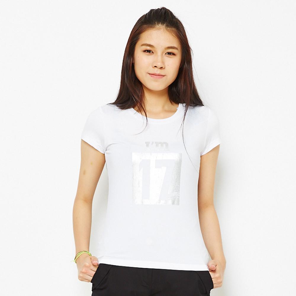 【 TOP GIRL】復刻青春吸排圓領T-白