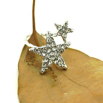 Aimee Toff 大小星星特色造型戒指
