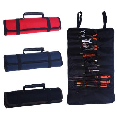 多功能捲筒式工具收納袋電工包野營工具袋