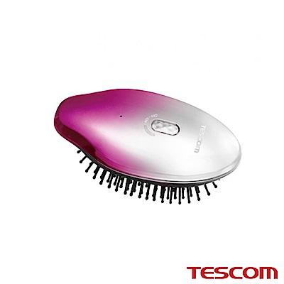 TESCOM 負離子音波振動髮梳TIB10TW (粉色)