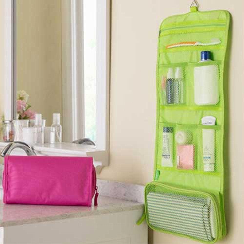 iSFun 旅行專用 網狀摺疊盥洗包 三色可選