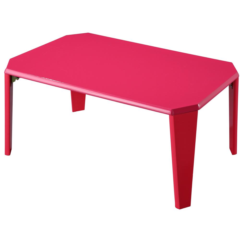 EASY HOME【魔鏡】鏡面烤漆折疊和室桌(櫻桃紅)