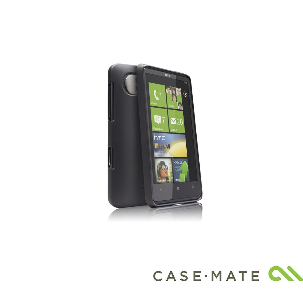 Case-Mate HTC HD7 專用超薄保護殼(霧面黑色)