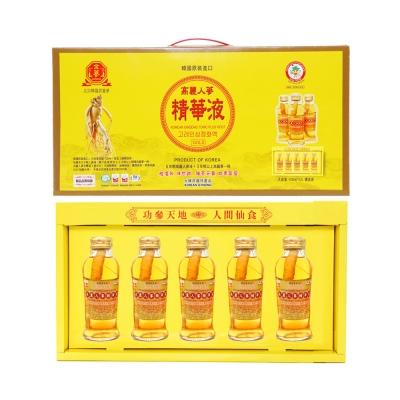 金蔘 韓國高麗人蔘精華液禮盒(5入x5盒)