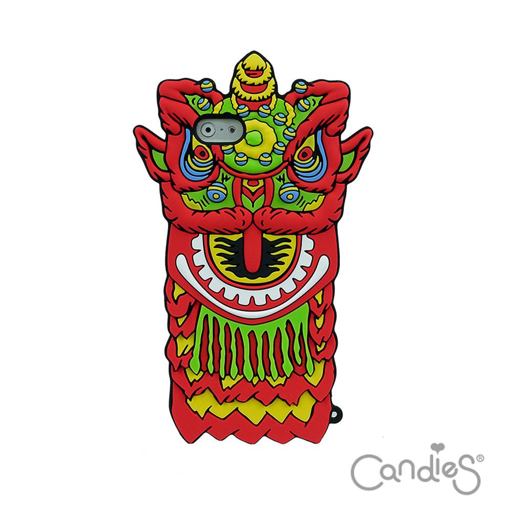Candies iPhone6/6s(4.7)猴年限定獅王爭霸手機殼(紅)
