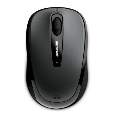 Microsoft微軟 無線行動滑鼠3500(灰黑)