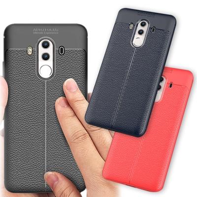 VXTRA 華為HUAWEI Mate 10 Pro 手感皮紋風 軟性手機殼