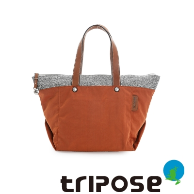 tripose-漫遊系列岩紋玩色立體外出包-橘