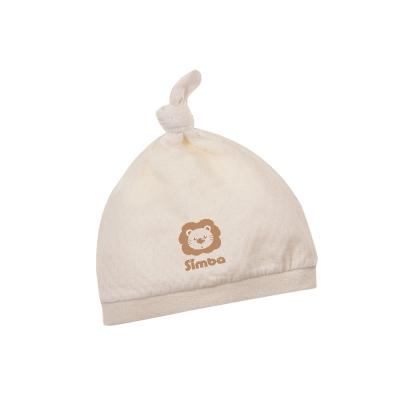小獅王辛巴 有機棉嬰兒打結帽